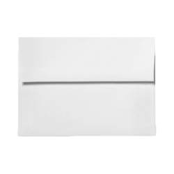 """LUX Invitation Envelopes With Peel & Press Closure, A1, 3 5/8"""" x 5 1/8"""", White, Pack Of 50"""