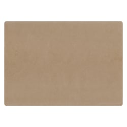 """Hoffmaster Disposable Paper Placemats, Earth Wise Kraft, 10"""" x 14"""", Carton Of 1,000"""