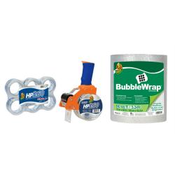 """Duck® Brand Heavy-Duty Packaging Tape Bundle, 1-7/8"""" x 60 Yd, Clear, Pack Of 6 Rolls"""