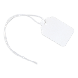 """Office Depot® Brand Merchandise Tags, Size 5, 1.09"""" x 1.75"""", White, Pack Of 100"""