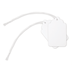 """Office Depot® Brand Merchandise Tags, Size 2, 0.75"""" x 1.13"""", White, Pack Of 100"""