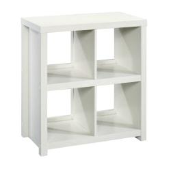 Sauder® HomePlus Cube Bookcase, 4 Shelves, White