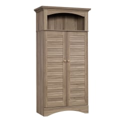 Sauder® Harbor View Storage Cabinet, Salt Oak