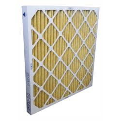 "Tri-Dim Pro HVAC Pleated Air Filters, Merv 11, 25"" x 25"" x 2"", Case Of 6"