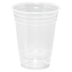 Dart® Conex® ClearPro® Polymer Cold Cups, 16 Oz, Clear, 50 Cups Per Pack, Carton Of 20 Packs