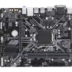 Gigabyte Ultra Durable H310M S2H GSM Desktop Motherboard - Intel Chipset - Socket H4 LGA-1151 - 32 GB DDR4 SDRAM Maximum RAM - UDIMM, DIMM - 2 x Memory Slots - Gigabit Ethernet - 2 x USB 3.1 Port - HDMI - DVI - 4 x SATA Interfaces