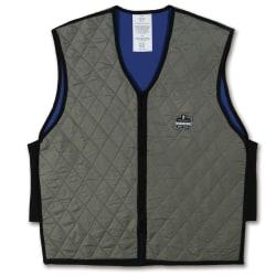 Ergodyne Chill-Its Evaporative Cooling Vest, Medium, Gray, 6665