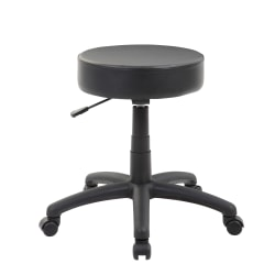 Boss Office Products Dot Stool, Black