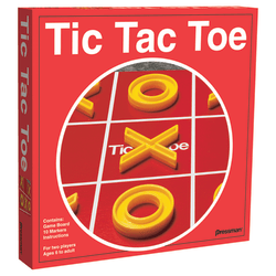 Pressman Toys Tic Tac Toe Board Game, Grade 1 And Up