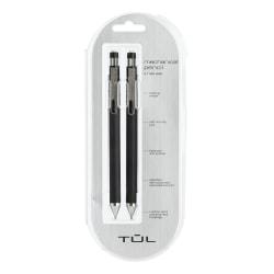 TUL® Mechanical Pencils, 0.7mm, Black Barrel, Pack Of 2 Pencils