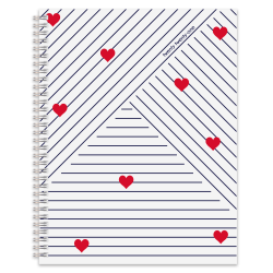 """Office Depot® Brand Weekly/Monthly Planner, 8-1/2"""" x 11"""", Love, January To December 2021"""