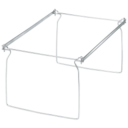 Office Depot® Brand Metal File Frames, Legal Size, Silver, Box Of 2