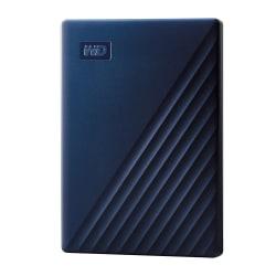 Western Digital® My Passport External Portable Hard Drive For Mac, 2TB, WDBA2D0020BBL-WESN, Blue
