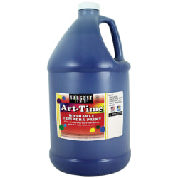 Sargent Art® Art-Time Washable Tempera Paint, 1 Gallon, Blue