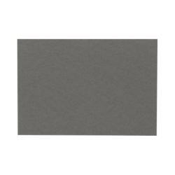 """LUX Flat Cards, A7, 5 1/8"""" x 7"""", Smoke Gray, Pack Of 250"""