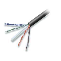 Belkin Cat. 6 High Performance UTP Bulk Cable (Bare wire) - 1000ft - Black