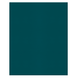 Office Depot® Brand 2-Pocket Paper Folders, Teal, Pack Of 25