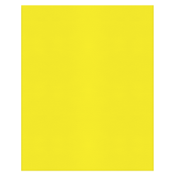 Office Depot® Brand 2-Pocket Paper Folders, Yellow, Pack Of 25