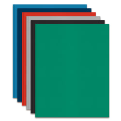 Office Depot® Brand 2-Pocket Folders with Prongs, Assorted Colors, Pack Of 24