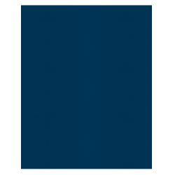 Office Depot® Brand 2-Pocket Paper Folders, Dark Blue, Pack of 25