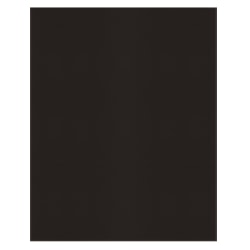 Office Depot® Brand 2-Pocket Folders without Fasteners, Black, Pack of 25