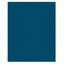 Office Depot® Brand 2-Pocket Paper Folders, Light Blue, Pack of 25