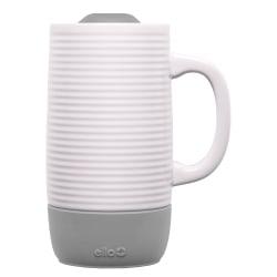 Ello Jane Ceramic Travel Mug, 18 Oz, Gray