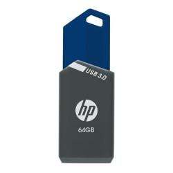HP x900w USB 3.0 Flash Drive, 64GB, Gray/Blue, P-FD64GHP900-GE