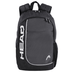 """HEAD Overhead Backpack With 15"""" Laptop Pocket, Gray"""