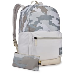 "Case Logic® Commence Backpack With 15.6"" Laptop Pocket, Concrete Camo"