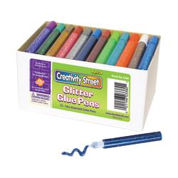 ChenilleKraft Resealable Glitter Glue Pens, Pack Of 72