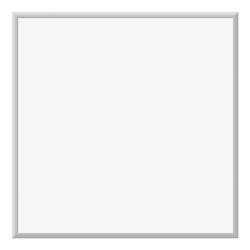 "U Brands Magnetic Dry-Erase Whiteboard, 36"" x 36"", Aluminum Frame With Silver Finish"