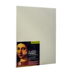 """Ampersand Artist Panel Canvas Texture Flat Profile, 9"""" x 12"""", 3/8"""", Pack Of 2"""