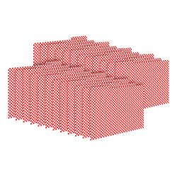 Barker Creek Tab File Folders, Letter Size, Red Check, Pack Of 24 Folders