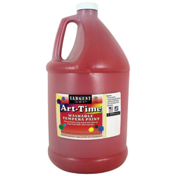 Sargent Art Art-Time Washable Tempera Paint, 1 Gallon, Red