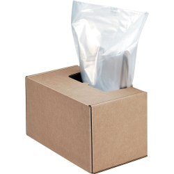 Fellowes® High-Security Shredder Bags, Pack Of 50 Bags