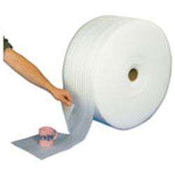 """Office Depot® Brand Foam Rolls, 3/32"""" x 72"""" x 750', Slit At 18"""", Perf At 12"""", Box Of 4 Rolls"""
