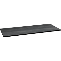 """HON® 30""""D x 72""""W Huddle Rectangular Table Top, Gray"""