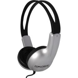 Koss® ED1TC On-Ear Headphones, Silver/Black
