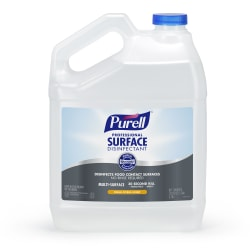 Purell® Professional Surface Disinfectant Refill, Fresh Citrus Scent, 128 Oz Bottle, Case Of 4
