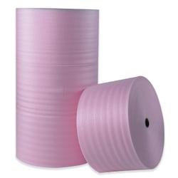 """Office Depot® Brand Antistatic Foam Rolls, 1/8"""" x 72"""" x 550', Slit At 12"""", Perf At 12"""", Box Of 6 Rolls"""