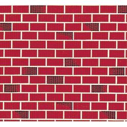 "Pacon® Fadeless Designs Bulletin Board Paper, 50' x 48"", Brick"