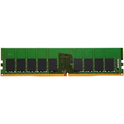 Kingston - DDR4 - module - 16 GB - DIMM 288-pin - 2400 MHz / PC4-19200 - CL17 - 1.2 V - unbuffered - ECC