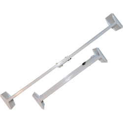 "Range Kleen Drawer Organizer - 4"" Height11.9"" Length - Adjustable, Expandable - 2 Piece"