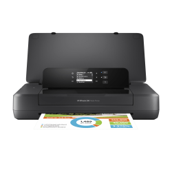 HP OfficeJet Portable Wireless Color Inkjet Printer 200