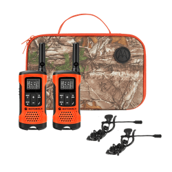 Motorola Talkabout T265 Sportsman Edition Two-Way Radio, Orange