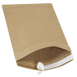 """Office Depot® Brand Kraft Self-Seal Padded Mailers, #3, 8 1/2"""" x 14 1/2"""", Pack Of 100"""