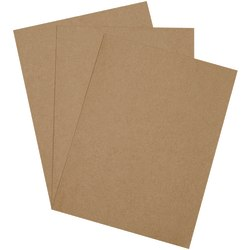 "Office Depot® Brand Chipboard Pads, 9"" x 12"", 100% Recycled, Kraft, Case Of 825"