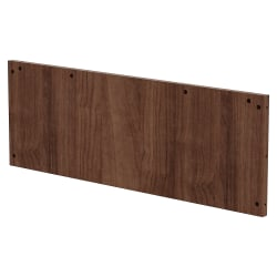 Lorell® Prominence Conference Table Modesty Panel, For 5' Top, Walnut