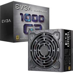 EVGA SuperNOVA 1000 G3 Power Supply - Internal - 120 V AC, 230 V AC Input - 1000 W / 3.3 V DC, 5 V DC, 12 V DC, 5 V DC, -12 V DC - 1 +12V Rails - 1 Fan(s)